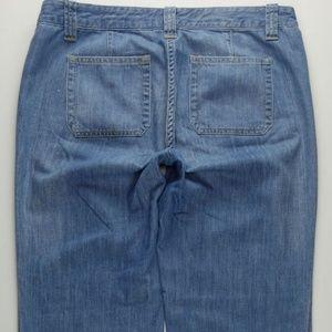 J.CREW City Fit Trouser Wide Leg Flare sz 10 B598